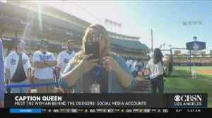 Meet The Woman Behind The Dodgers Social Media [Video]