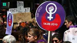 Swiss Women Take To The Streets To Protest Gender Inequality [Video]