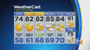 New York Weather: 6/14 CBS2 Afternoon Forecast [Video]