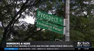Bronx Intersection Renamed For Hero Soldier Who Died Saving Family From Fire [Video]