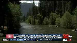 NEWSSTATE Yosemite National Park issues water warning to visitors [Video]