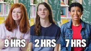 16 Sixteen-Year-Olds Guess How Much Time They Spend on Their Phones a Day [Video]