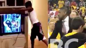 Police INVESTIGATE Raptors' Masai Ujiri HITTING Sheriff! And Crazed Warriors Fan DEMOLISHES TV! [Video]
