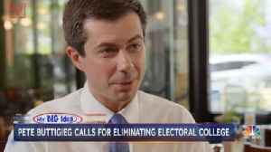 """2020 Candidate Buttigieg Calls Electoral College """"Undemocratic"""", Says it Should Be Scrapped [Video]"""