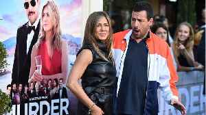 News video: Jennifer Aniston And Adam Sandler Reunite For 'Murder Mystery'