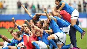 News video: Italy Wins Again At Women's World Cup