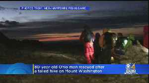 80-Year-Old Ohio Man Rescued From Mount Washington [Video]