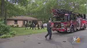 Woman Killed, Adult Daughter Injured In Long Island House Fire [Video]