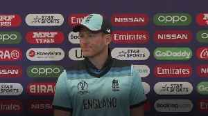News video: England not at 'panic stations' over injuries, says Morgan
