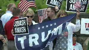 'Squash Amash': Trump Supporters Rally Against Michigan Republican Lawmaker [Video]