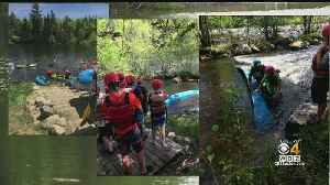 Hingham Boy Scouts Rescue 8 Canoeists From Maine River [Video]