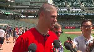Joe Mauer Holds Annual Field Day On Eve Of Number Being Retired [Video]