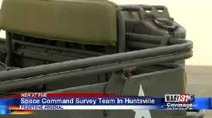 Space Command Survey Team in Huntsville [Video]