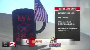 Mug Club: Boy Scout Troop 11 Bottle & Can Drive [Video]