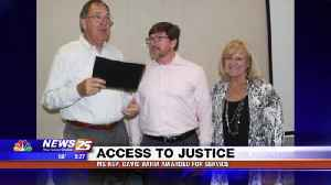 Access to Justice Commission Honors Rep. David Baria [Video]