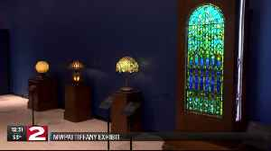 Tiffany collection on display at Munson Williams Proctor Arts Institute [Video]