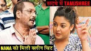 Tanushree Dutta ANGRY REACTION On Nana Patekar's Clean Chit | #MeToo [Video]