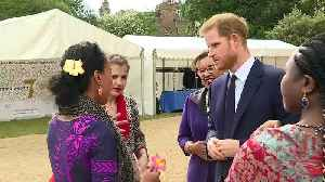 Duke of Sussex presents awards at Commonwealth reception [Video]