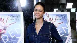 Courtney Eaton 'Maiden' Los Angeles Premiere Red Carpet [Video]