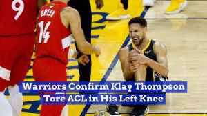 Klay Thompson Got Hurt In The NBA Finals [Video]