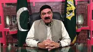 Railway minister Sheikh Rasheed record a message for Pakistani team ahead of Pak Vs Ind [Video]