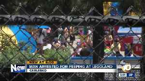 Man arrested for peeping incident at Legoland, police say [Video]