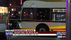16-year-old sustains apparent self inflicted gunshot wound aboard an MTA bus [Video]