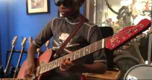 9-year-old guitar prodigy pays it forward [Video]