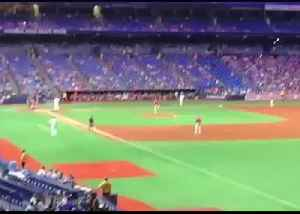 Power Outage Delays Angels and Rays Game at St. Petersburg's Tropicana Field [Video]