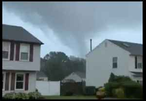 Funnel Cloud Forms Near Homes in Wenonah, New Jersey [Video]