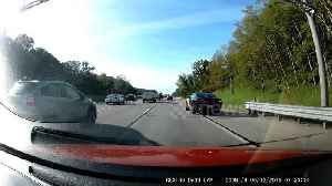 Moment speeding motorist gets instantly pulled over by police on Michigan highway [Video]