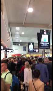 Travel chaos! Luton airport evacuated after fire alarm [Video]