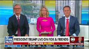 Trump slams Nervous Nancy on Fox & Friends [Video]