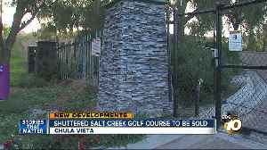 Shuttered Chula Vista golf course to be sold [Video]
