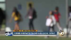 Former Sweetwater teacher sues school district [Video]