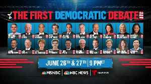 Stage set for first Democratic presidential debate [Video]