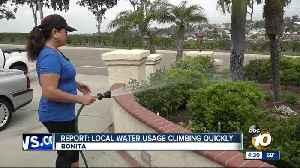 Water usage is on the rise in the area [Video]