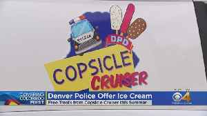 Copsicle Cruiser Helps Officers Mingle With Community [Video]