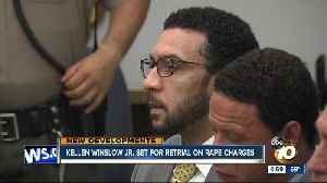 Kellen Winslow II set for retrial on rape charges [Video]