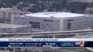 President Trump to hold rally in downtown Orlando [Video]