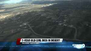 7 year old Indian immigrant dies in AZ desert [Video]