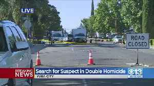 Search For Suspect In Double Homicide [Video]