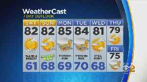New York Weather: CBS2 6/14 Nightly Forecast at 11PM [Video]