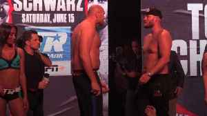News video: Fury v Schwarz: Weigh-in
