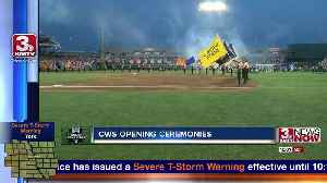 News video: College World Series begins with Opening Ceremonies