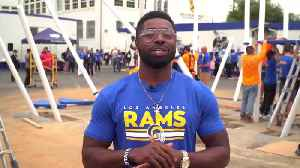Rams Giving Back: Our Favorite NFL Team Builds A Playground At Belvedere Elementary [Video]