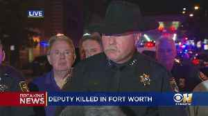 Tarrant County Sergeant Dies After Injuries To Head In Downtown Fort Worth [Video]