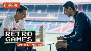 Retro Games With...Angel Di Maria [Video]