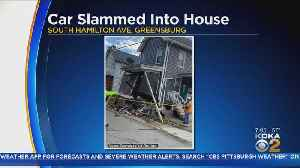 Car Slams Into House In Westmoreland County [Video]