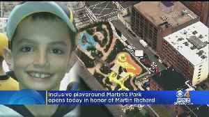 Martin's Park In Seaport Officially Opens Saturday [Video]
